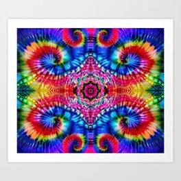 Tie-Dye Psychedelic Art Print