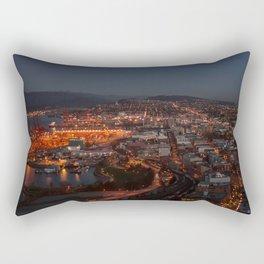 Above Railtown Rectangular Pillow
