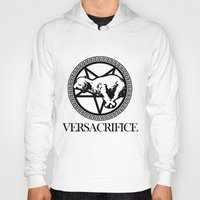versace Hoodies featuring Versace Parody - Versacrifice by hunnydoll