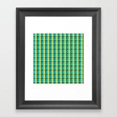Lumberjack Attack! Plaid Framed Art Print