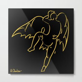 Abduction of Ganymede Metal Print