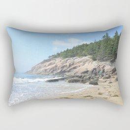 Summer day at sand beach Rectangular Pillow