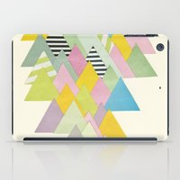 french iPad Cases featuring French Alps by Cassia Beck