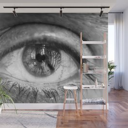 Eye of the Photographer Wall Mural