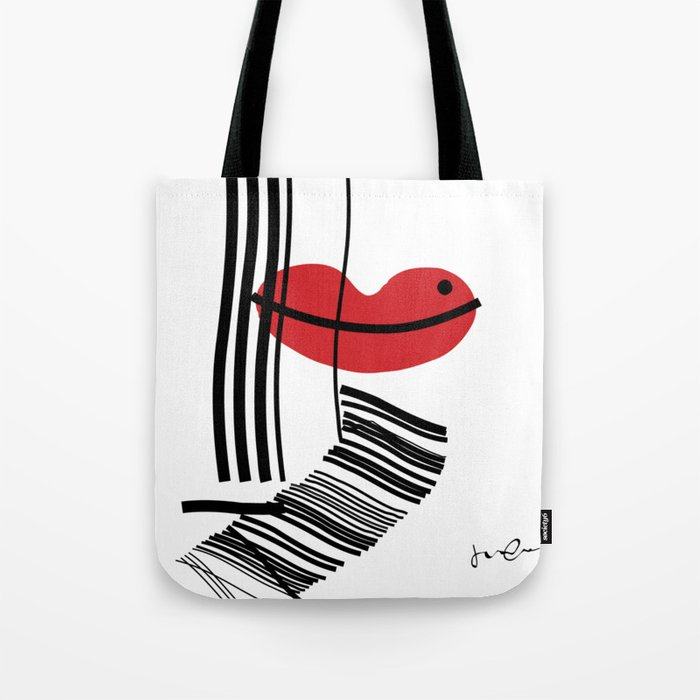 LIP-SYNC Tote Bag