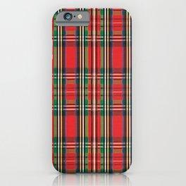 Scottish Plaid iPhone Case