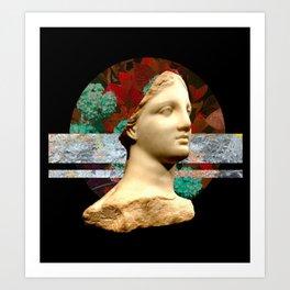 Vaporwave / Naturewave Design Art Print