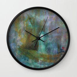 Pay Your Debts And Do Not Cross The Water Again Wall Clock