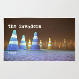 Gang of Cones  - The Invaders Rug
