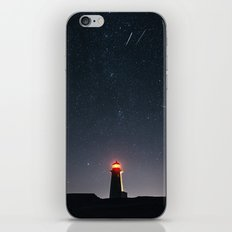 Perseid Meteor Shower iPhone & iPod Skin