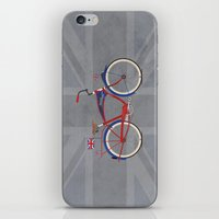 british iPhone & iPod Skins featuring British Bicycle by Wyatt Design