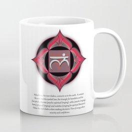 Root Chakra w description Coffee Mug