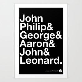 American Composers Art Print