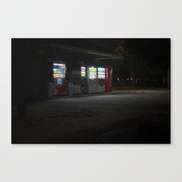 Vending Machines Canvas Print