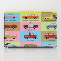 simpsons iPad Cases featuring Simpsons Cars by SIME Design