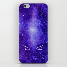 Space lips iPhone Skin