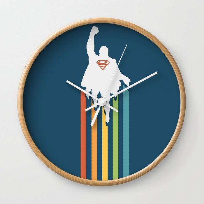 Superman - Man of steel Wall Clock