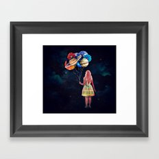 The Guardian of the Galaxy Framed Art Print