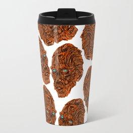 Orange Van Gogh Travel Mug