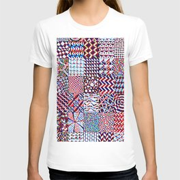 Pigmented Pattern Parade T-shirt