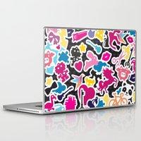 sticker Laptop & iPad Skins featuring Sticker Frenzy by XOOXOO