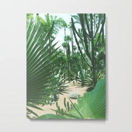 Moroccan Gardens Metal Print