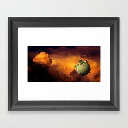 Kaito's Planet Framed Art Print