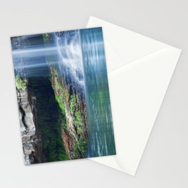 Waterfalls at Fern Pool in Karijini National Park, Western Australia Stationery Cards