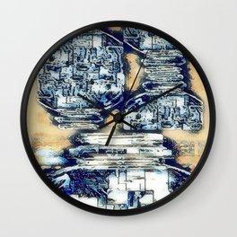 Plastics series 8 Wall Clock