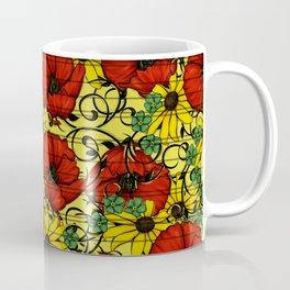 Poppy forget me not Coffee Mug