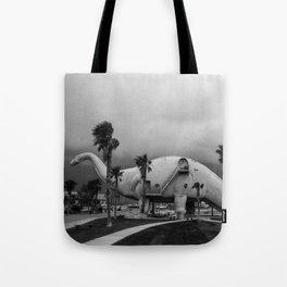 Dinosaur Park - Prehistoric California Tote Bag