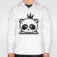 prince Hoodies featuring Panda Prince by Inkroyable
