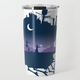 Sophie and Calcifer Travel Mug
