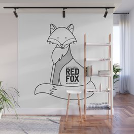 Red Fox, Wildlife of America Wall Mural