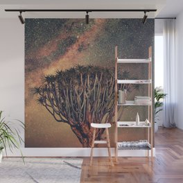 Milky Way Stars Joshua Tree Wall Mural