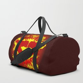 Explosive Kiss Duffle Bag