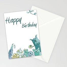 Dog Birthday Stationery Cards