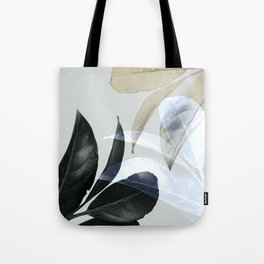 Moody Leaves II Tote Bag