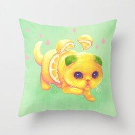 Sweeture: Sourpuss Throw Pillow