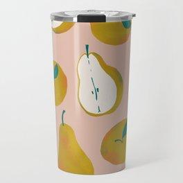 Pear Pattern Travel Mug