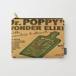 Vintage poster - Dr. Poppy's Wonder Elixir Carry-All Pouch
