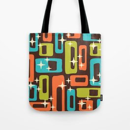 Retro Mid Century Modern Abstract Pattern 632 Tote Bag