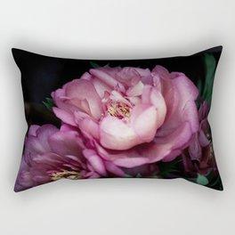 Hourly I sigh: dark pink peonies Rectangular Pillow