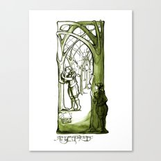 As You Like It - Rosaline -  Shakespeare Illustrations Canvas Print