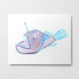 angler fish Metal Print