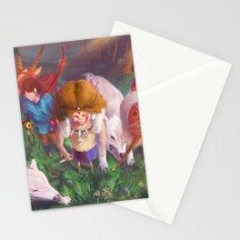 Princess Mononokkkkkkkkke Stationery Cards