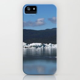 Ice by Mendenhall Glacier iPhone Case