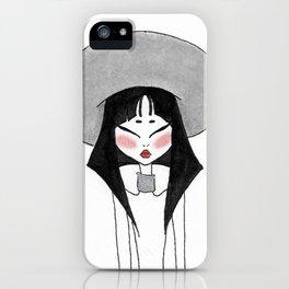 Inktober witch 6 iPhone Case