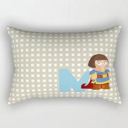 n for noble Rectangular Pillow
