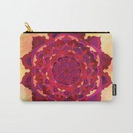 Hot Autumn Mandala Design Carry-All Pouch